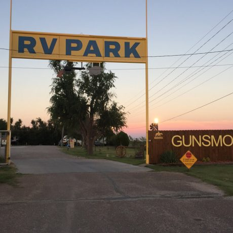 Gunsmoke RV entrance